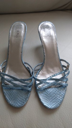 Hugo Boss Sandale metallicblau