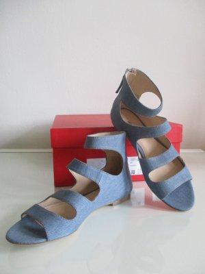 Hugo Boss Sandalo azzurro Tessuto misto