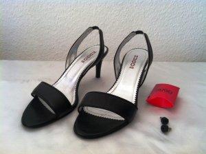 Hugo Boss Strapped High-Heeled Sandals black