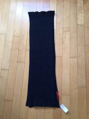 Hugo Boss Wollen sjaal donkerblauw