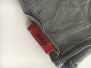 Hugo Boss Tube Scarf white-black