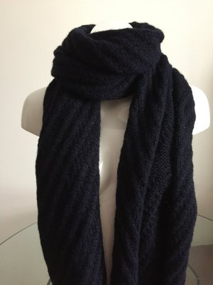Hugo Boss Schal nagelneu mit Etikett in dunkelblau