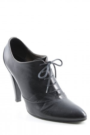 Hugo Boss Lace-up Booties black business style