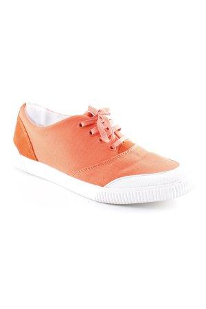 Hugo Boss Sneaker stringata arancio neon stile casual