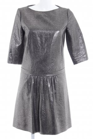 Hugo Boss Peplum Dress silver-colored elegant
