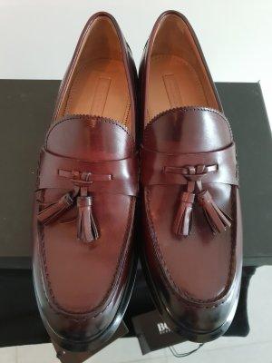 Hugo Boss Zapatos formales burdeos