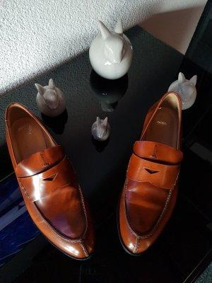 Hugo Boss Schuhe Gr. 40.5 nougat Neu NP 280€