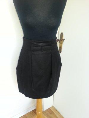 Hugo Boss Jupe en laine noir laine vierge
