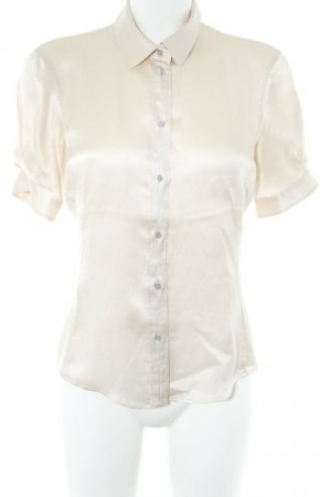 Hugo Boss Seidenbluse creme Business-Look