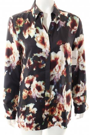 Hugo Boss Seidenbluse florales Muster Casual-Look