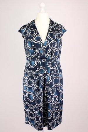 Hugo Boss Seidenkleid blau Größe 42