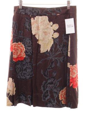 Hugo Boss Seidenrock florales Muster Elegant