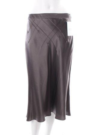 Hugo Boss Seidenrock grau schlichter Stil