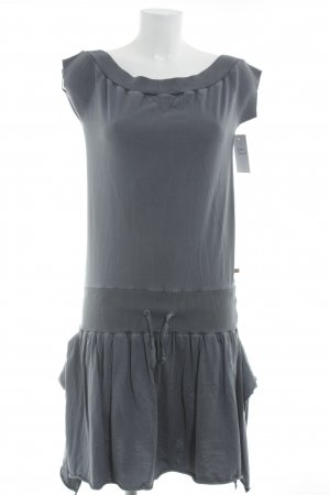 Hugo Boss Shirtkleid dunkelgrau Casual-Look