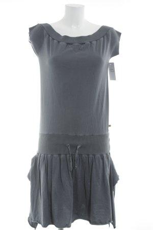 Hugo Boss Shirtkleid dunkelgrau Casual-Look
