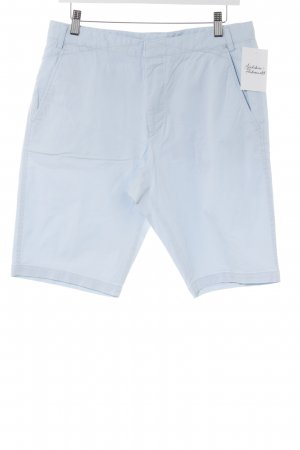 Hugo Boss Shorts himmelblau Casual-Look