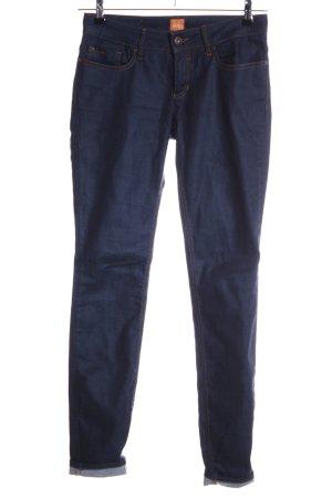 Hugo Boss Skinny Jeans blau Casual-Look