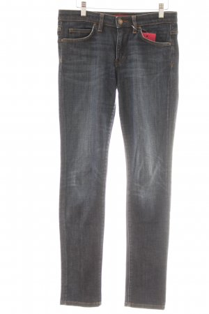 Hugo Boss Skinny Jeans dunkelblau Casual-Look