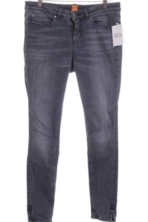Hugo Boss Skinny Jeans dunkelgrau Casual-Look