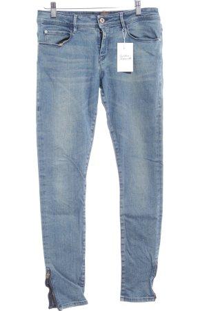 Hugo Boss Skinny Jeans kornblumenblau Casual-Look