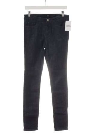 Hugo Boss Slim Jeans dunkelblau meliert Casual-Look