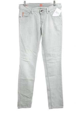 Hugo Boss Slim Jeans hellgrau Casual-Look
