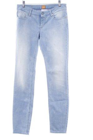 Hugo Boss Slim Jeans himmelblau-hellblau Casual-Look