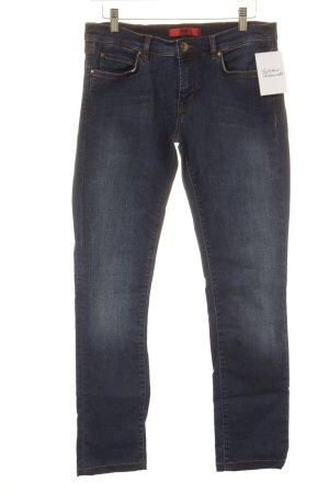 Hugo Boss Slim Jeans stahlblau Casual-Look
