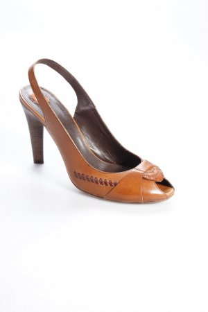 Hugo Boss Slingbacks Braun