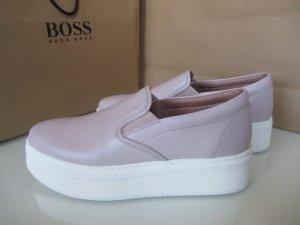 Hugo Boss Slips, Größe 40, Leder, Neu.