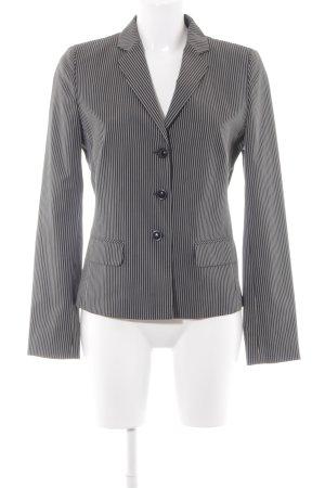 Hugo Boss Veste de smoking noir-blanc motif rayé style d'affaires
