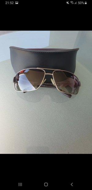 Hugo Boss Ovale zonnebril lichtbruin