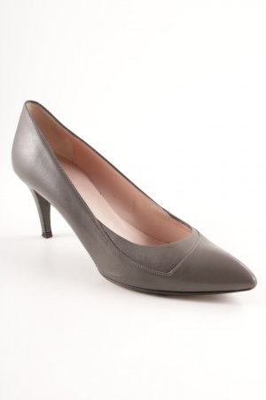 Hugo Boss Spitz-Pumps anthrazit Business-Look