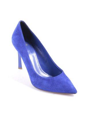 Hugo Boss Spitz-Pumps blau Casual-Look