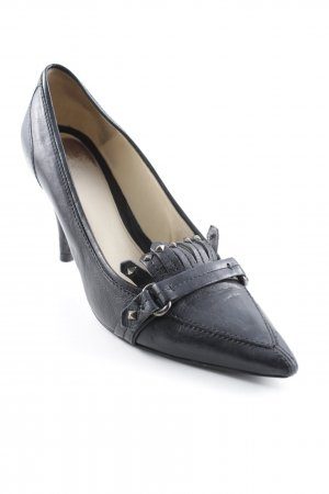 Hugo Boss Spitz-Pumps schwarz Business-Look