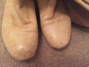 Hugo Boss Stiefel beige