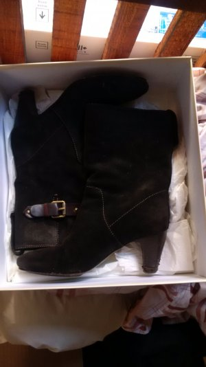 Hugo Boss Stiefel Wildleder