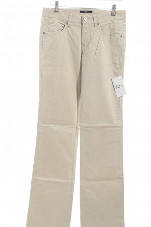 Hugo Boss Stoffhose beige Casual-Look
