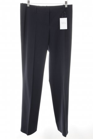 Hugo Boss Stoffhose dunkelblau Business-Look