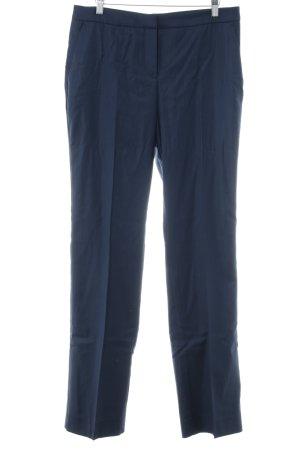 Hugo Boss Stoffen broek donkerblauw zakelijke stijl