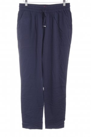 Hugo Boss Stoffhose dunkelblau Casual-Look