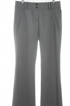 Hugo Boss Stoffhose grau-dunkelgrau meliert Business-Look