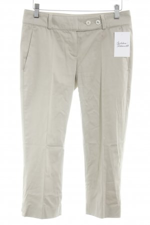 Hugo Boss Stoffhose hellbeige Business-Look