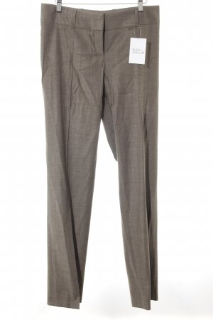 Hugo Boss Stoffhose hellbraun meliert Business-Look