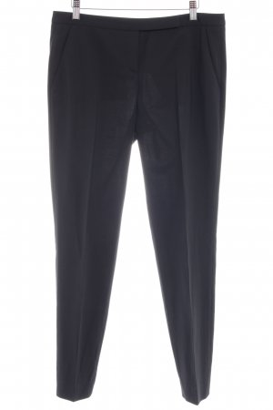 Hugo Boss Stoffen broek zwart simpele stijl