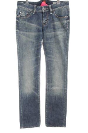 Hugo Boss Straight-Leg Jeans blau Casual-Look