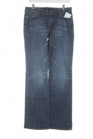 Hugo Boss Straight-Leg Jeans blau Casual-Look