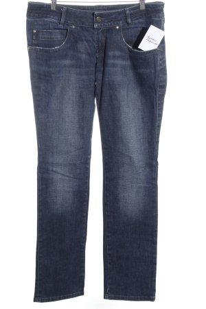 Hugo Boss Straight-Leg Jeans blau Jeans-Optik