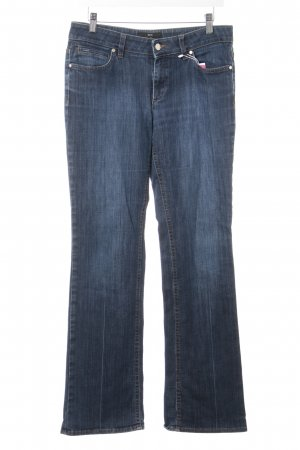 Hugo Boss Straight-Leg Jeans dunkelblau Casual-Look