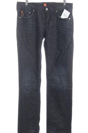 Hugo Boss Straight-Leg Jeans dunkelblau